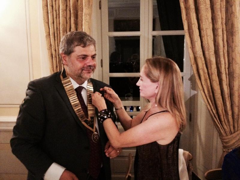 Tonino Cantelmi  presidente 2014- 2015 Rotary club roma sud