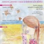 Tonino Cantelmi, convegni, sindrome post aborto