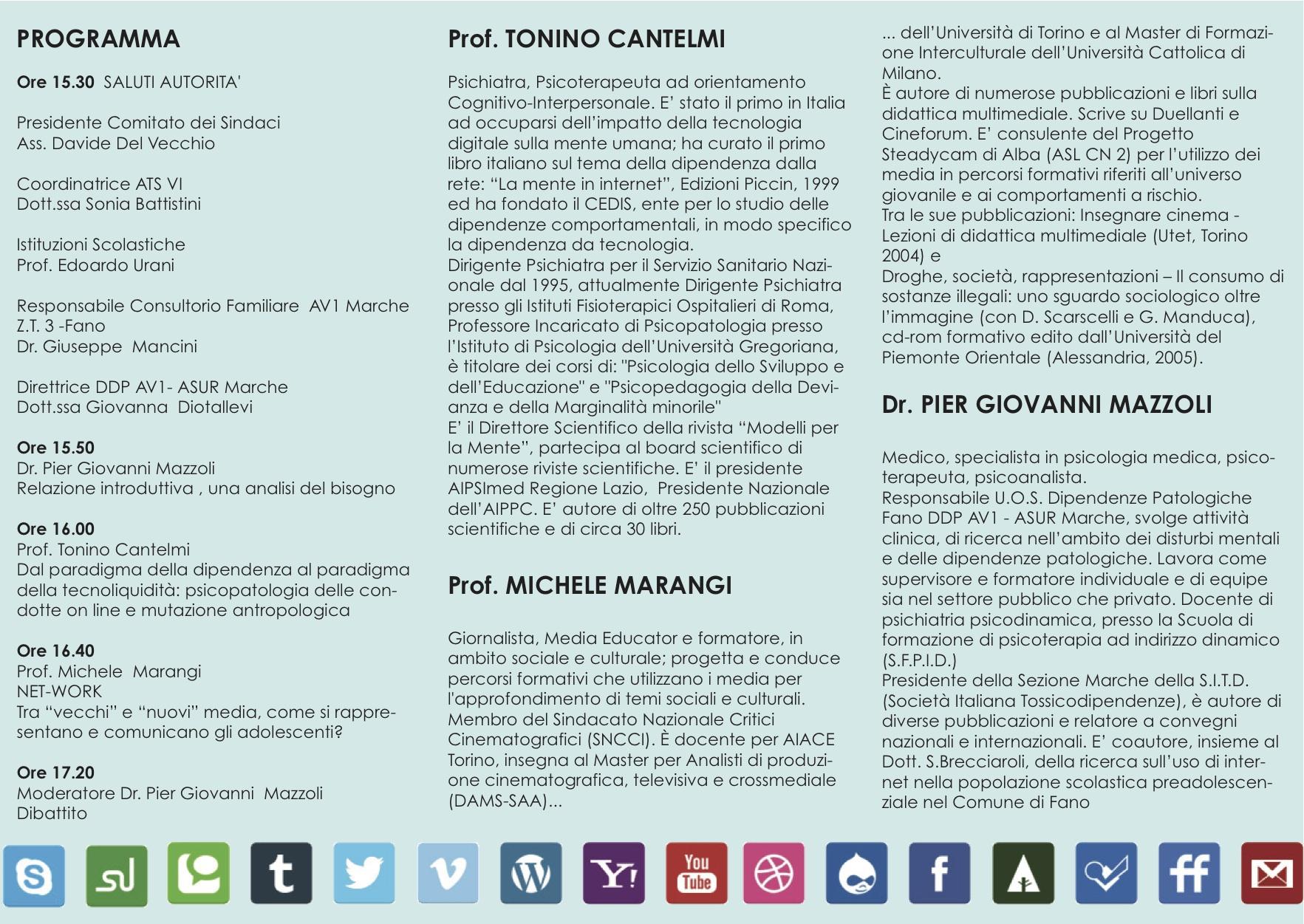 Convegni Tonino Cantelmi