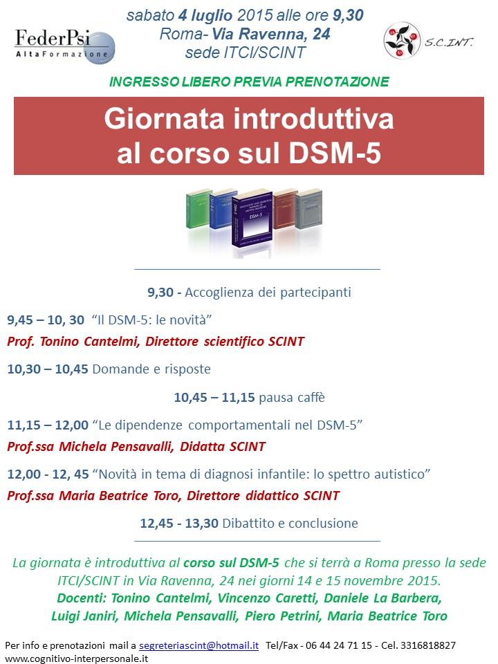 Open day Scint - scuola di specializzazione in psicoterapia cognitivo interpersonale diretta da Tonino Cantelmi