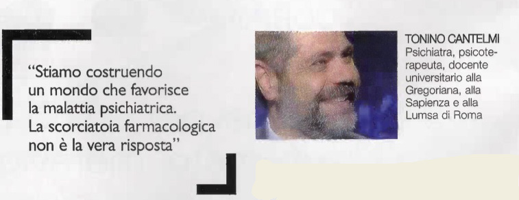 Tonino Cantelmi, psichiatra e psicoterapeuta