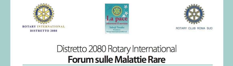 Tonino Cantelmi - Malattie Rare - Rotary 2013