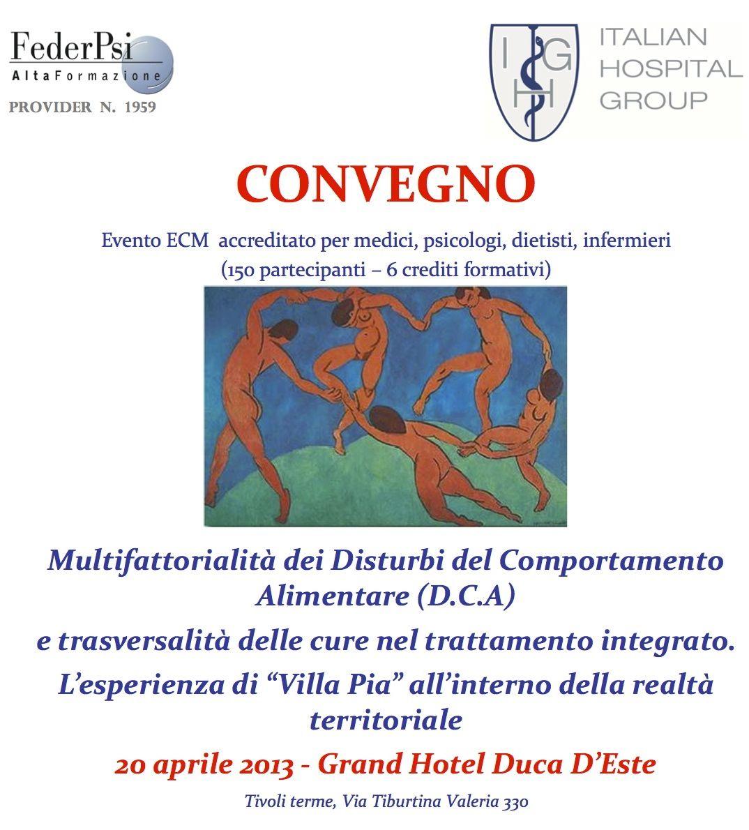 Tonino Cantelmi convegni 2013